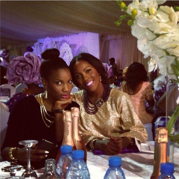 Femi Ahmed & Tiwa Savage