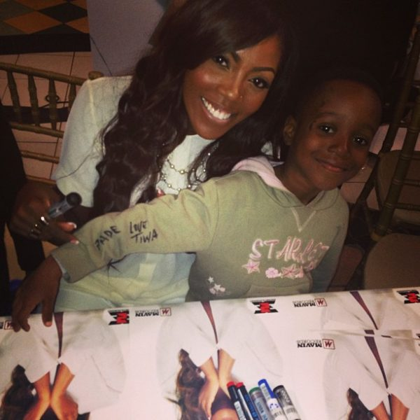 Tiwa Savage Once Upon A Time  Autograph Signing - August 2013 - BellaNaija