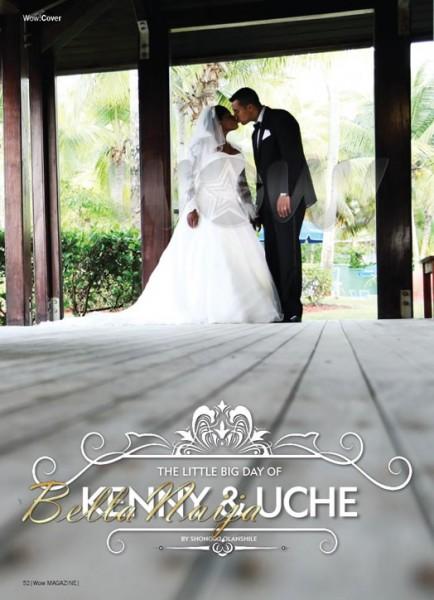 Uche Jombo & Kenny Rodriguez Wedding