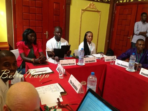 Uru Eke - Representing Nigeria-Nollywood at the Africa Youth Panel held in The Gambia - August 2013 - BellaNaija 022