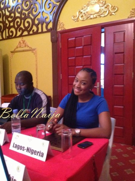 Uru Eke - Representing Nigeria-Nollywood at the Africa Youth Panel held in The Gambia - August 2013 - BellaNaija 026