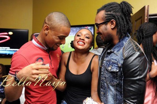Alex Ekubo, Uru Eke & Bryan Okwara