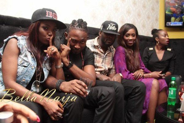 Annie Idibia, Uti Nwachukwu, TBillz & Tiwa Savage