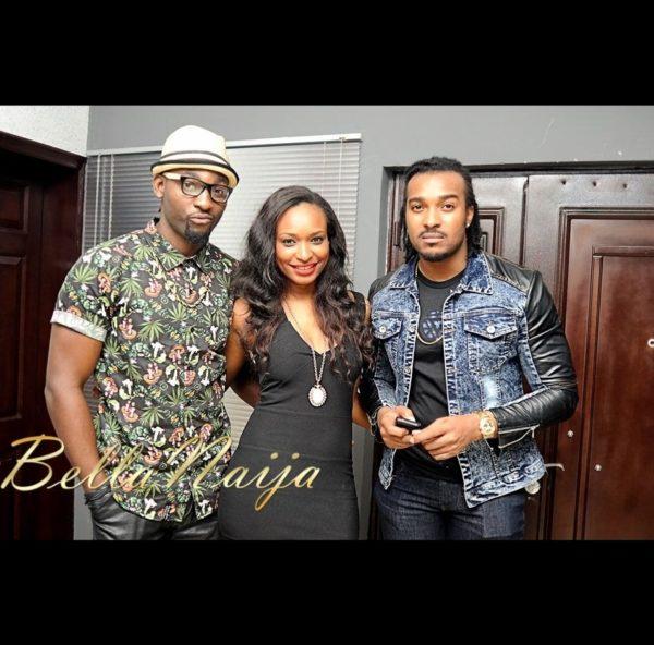 Gbenro Ajibade, Marie Miller & Bryan Okwara