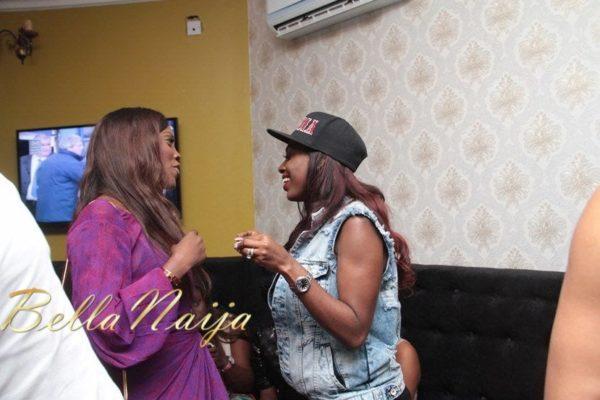 Tiwa Savage & Annie Idibia