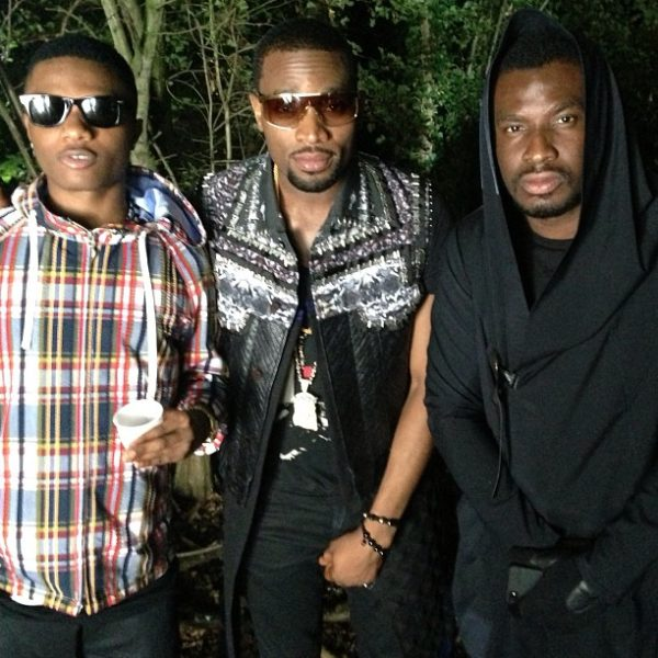 Wizkid D'Banj - August 2013 - BellaNaija 2