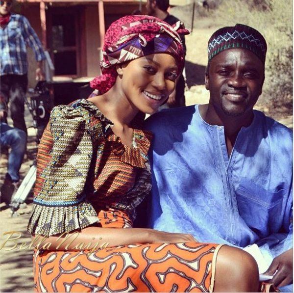 Yvonne Nelson & Akon - August 2013 - BellaNaija