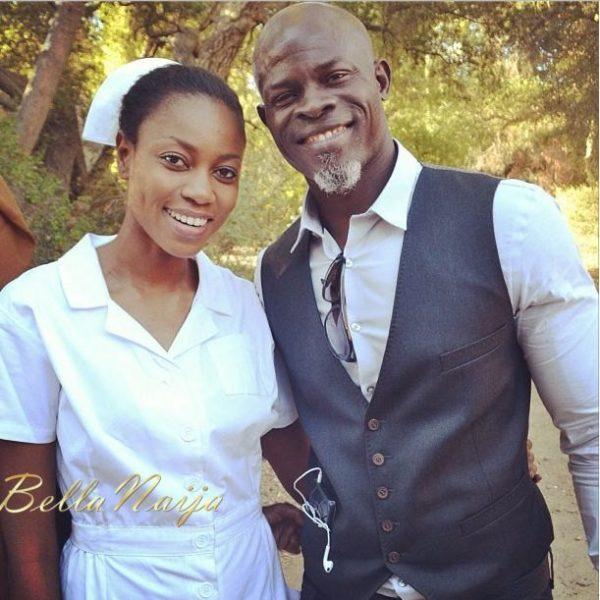 Yvonne Nelson & Djimon Hounsou