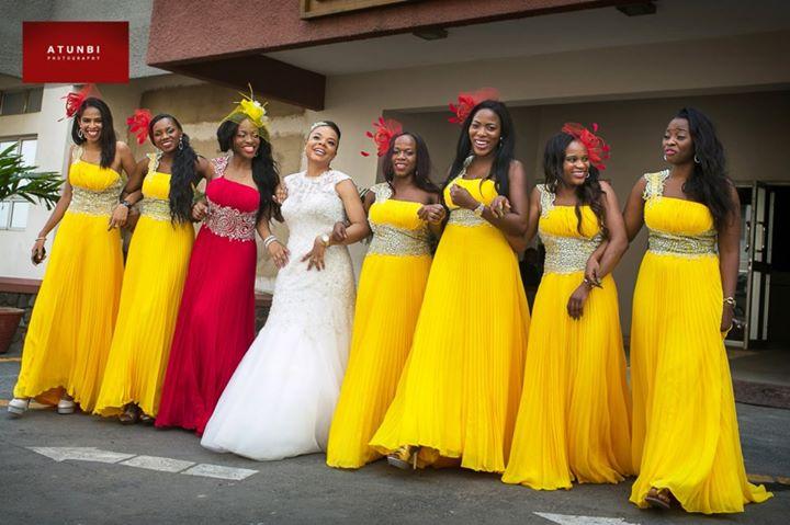 BN Weddings Trend Watch: Bridesmaids rocking Headpieces! - BellaNaija
