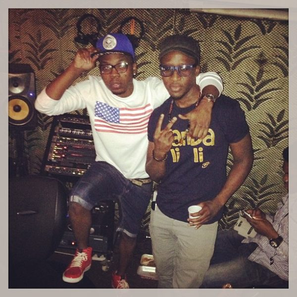 Bez and Olamide in the studio together? - Now this I've got to hear.