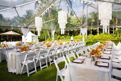 Bn wedding d cor outdoor wedding receptions bellanaija for Home garden wedding decorations