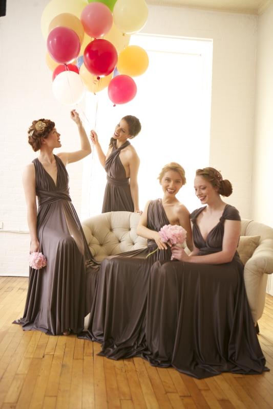 Фасоны платьев подружек невесты фото 2