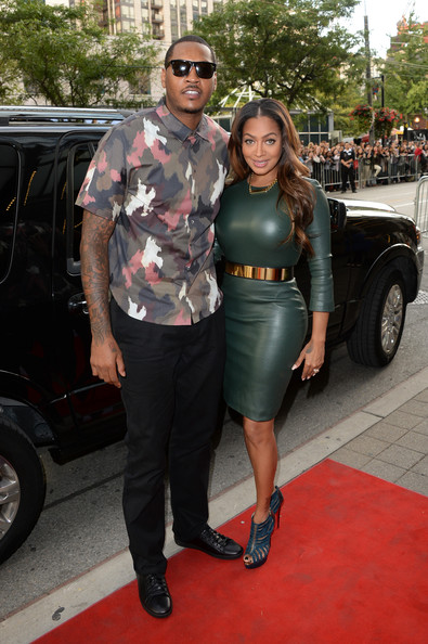 Carmelo & La La Anthony
