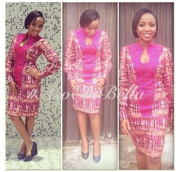 ankara lace aso ebi nigerian naija wedding bellanaija gele ichafu igbo yoruba