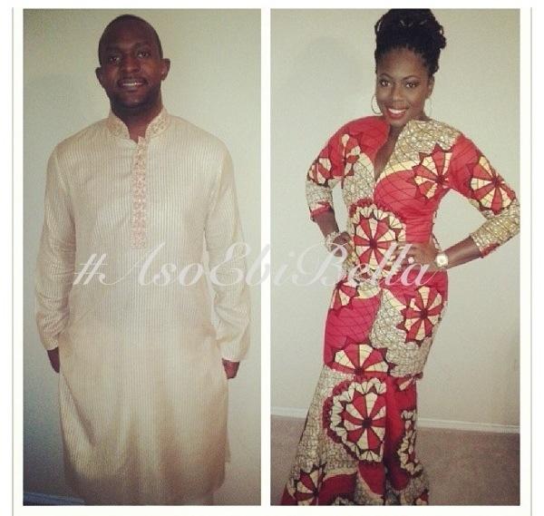 ankara lace aso ebi nigerian naija wedding bellanaija igbo yoruba delta itsekiri