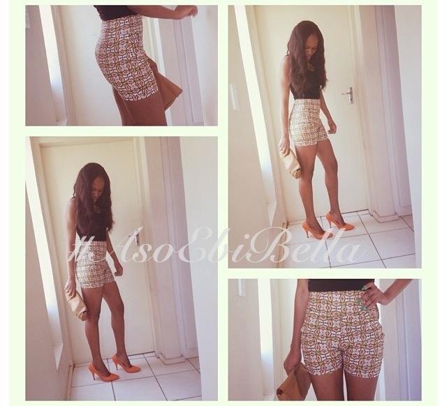 ankara shorts aso ebi nigerian naija wedding bellanaija gele ichafu igbo yoruba