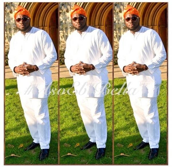 ankara lace aso ebi nigerian naija wedding bellanaija fila guy yoruba