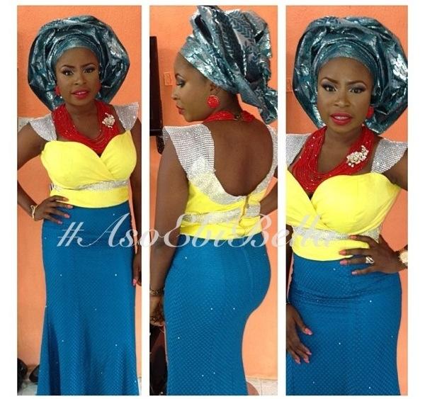 ankara lace aso ebi nigerian naija wedding bellanaija gele ichafu igbo yoruba beads