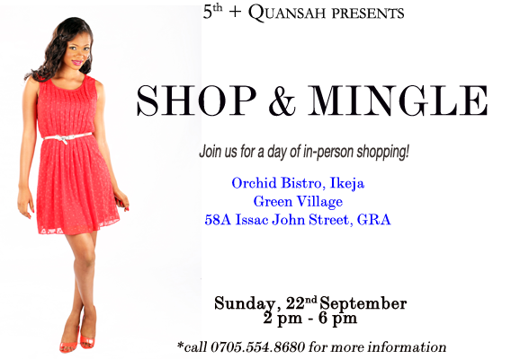 5th + Quansah - Shop & Mingle
