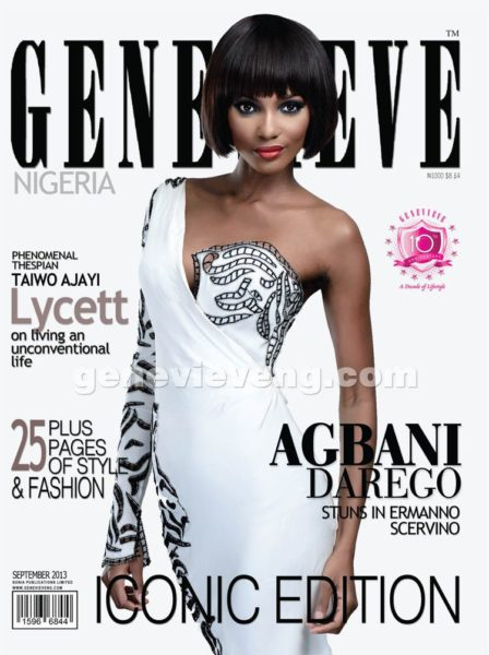 Agbani Darego covers Genevieve Magazine's Iconic Issue - September 2013 - BellaNaija - BN 021