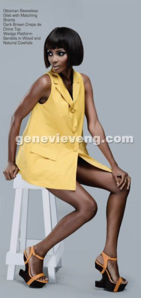 Agbani Darego covers Genevieve Magazine's Iconic Issue - September 2013 - BellaNaija - BN 022