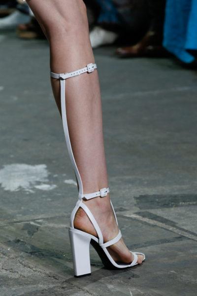 Alexander Wang Aline High T-Strap Sandals - September 2013 - BellaNaija