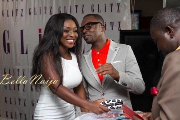 BN Excluisve - Yvonne Okoro - Glitz Africa Magazine Unveiling - September 2013 - BellaNaija 022