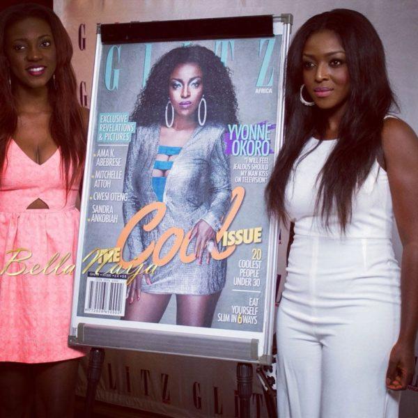 BN Excluisve - Yvonne Okoro - Glitz Africa Magazine Unveiling - September 2013 - BellaNaija 026