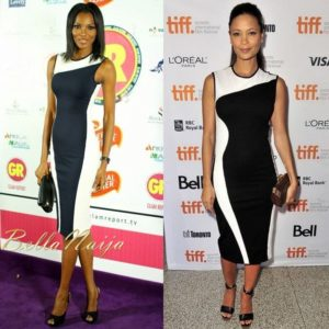 BN Pick Your Fave - Agbani Darego &  Thandie Newton in Stella McCartney - BellaNaija
