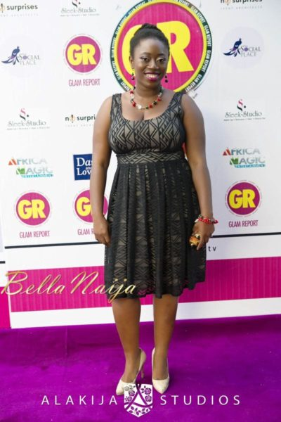 BN Red Carpet Fab - Exclusive Glam Report TV Launch in Lagos - September 2013 - BellaNaija - 036
