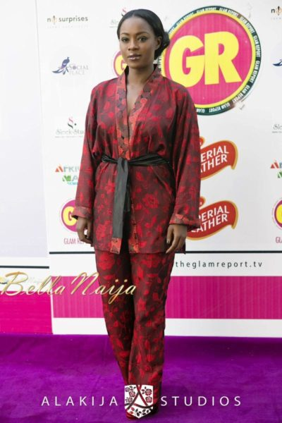 BN Red Carpet Fab - Exclusive Glam Report TV Launch in Lagos - September 2013 - BellaNaija - 047