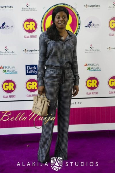 BN Red Carpet Fab - Exclusive Glam Report TV Launch in Lagos - September 2013 - BellaNaija - 056