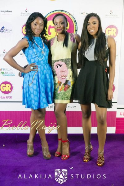 BN Red Carpet Fab - Exclusive Glam Report TV Launch in Lagos - September 2013 - BellaNaija - 068