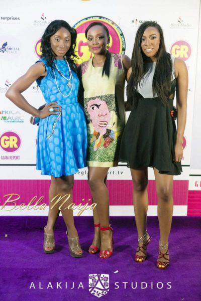 BN Red Carpet Fab - Exclusive Glam Report TV Launch in Lagos - September 2013 - BellaNaija - 068
