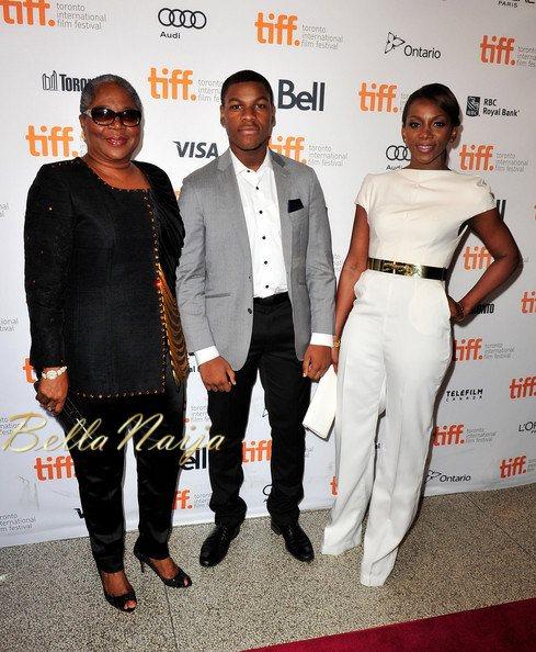 Onyeka Onwenu, John Boyega & Genevieve Nnaji