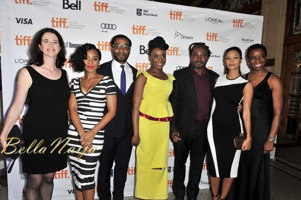 Andrea Calderwood, Anika Noni Rose, Chiwetel Ejiofor, Chimamanda Ngozi Adichie, Thandie Newton & Yewande Sadiku