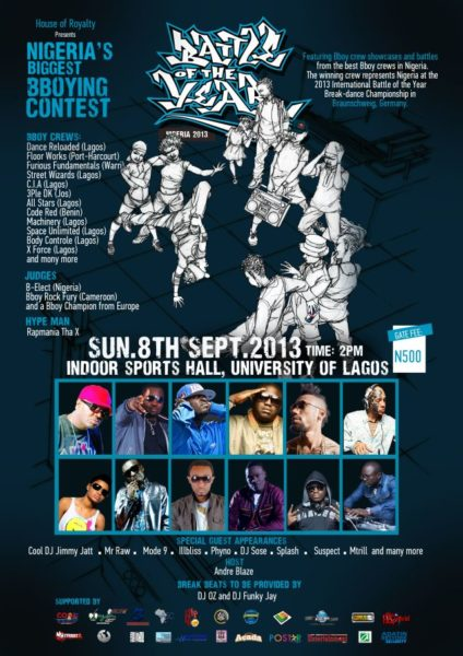 Battle of the Year - September 2013 - BellaNaija