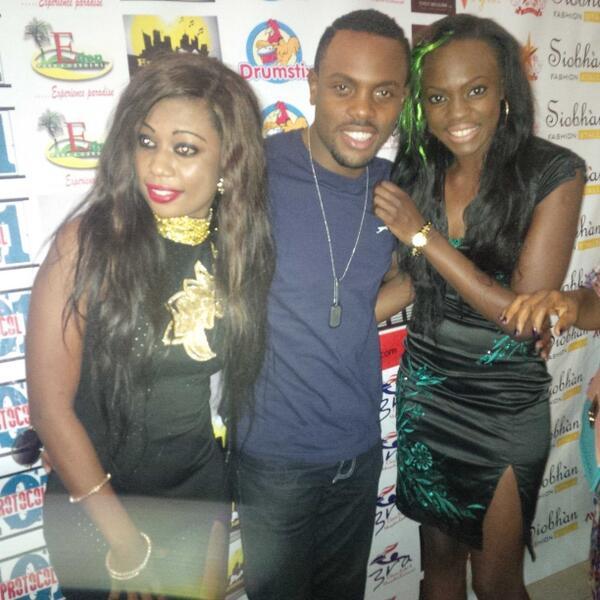 BBA The Chase Stars Beverly Osu & Melvin Oduah Make Media