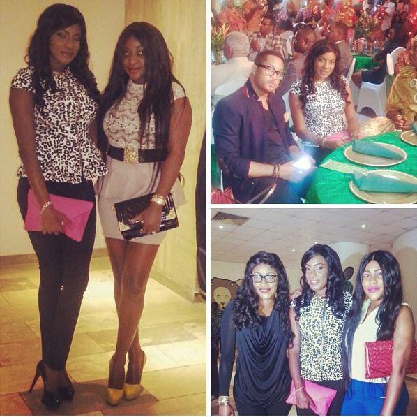 Chika Ike Ini Edo, Mike Ezuruonye & Angela Okorie