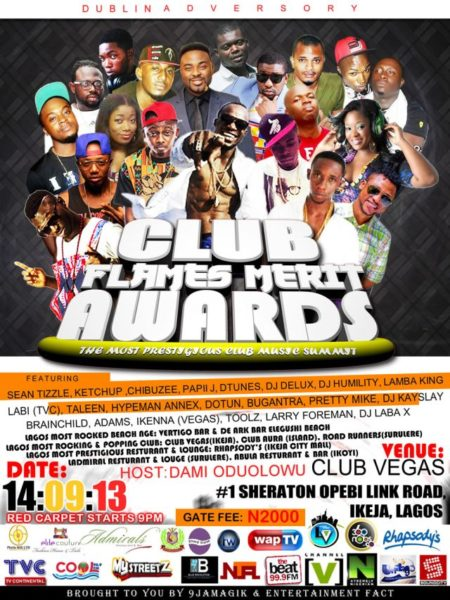Club Flames Merit Awards - September 2013 - BellaNaija