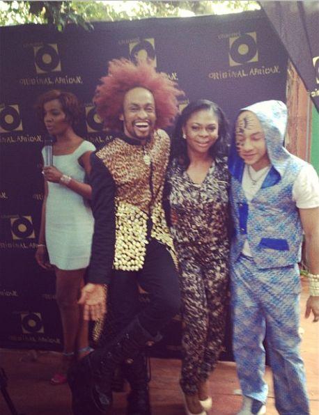 Denrele Edun, Karen Igho & DJ Sose