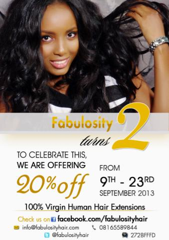 Get 20 Off Virgin Human Hair Extensions As Fabulosity Turns
