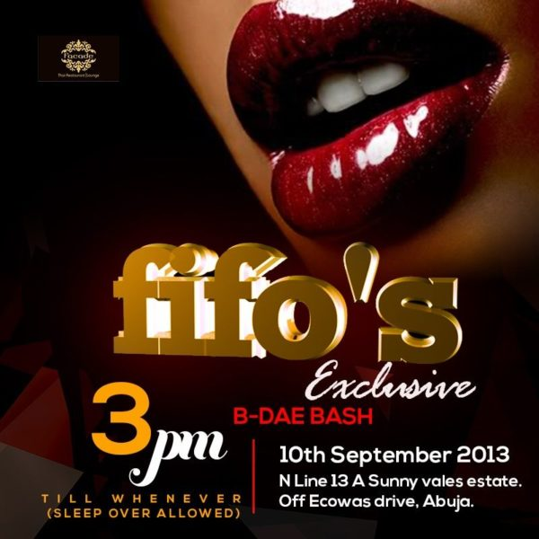 Fifo's Exclusive B-Dae Bash - September 2013 - BellaNaija