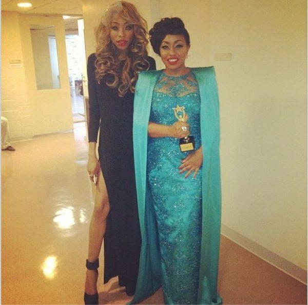 Kendra Etufunwa & Rita Dominic