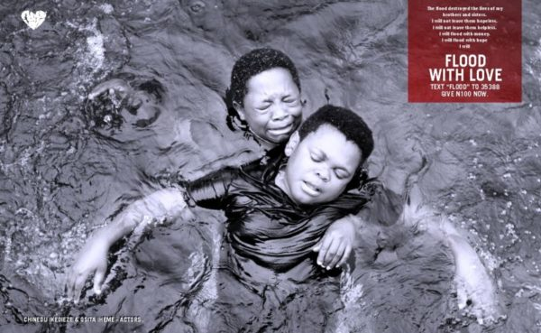 Flood with Love Campaign - September 2013 - BellaNaija