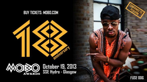 Fuse ODG at the MOBOs