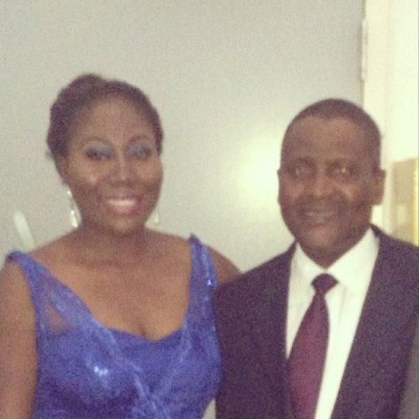 Gbemi Olateru-Olagbegi & Aliko Dangote