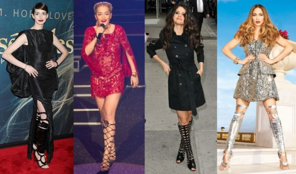 Anne Hathaway in Tom Ford, Rita Ora in Jimmy Choo, Selena Gomez & Jennifer Lopez in Tom Ford