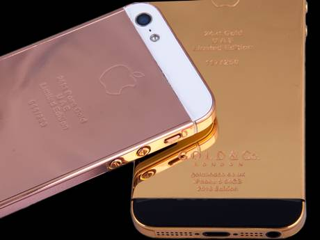 Gold iPhones - September 2013 - BellaNaija