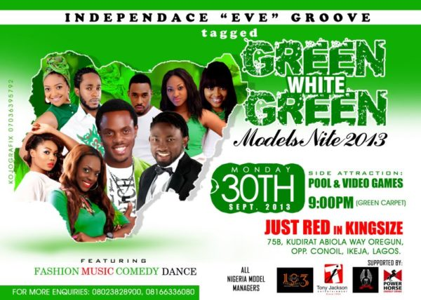 Green, White Green Models Nite 2013 - BellaNaija - September 2013